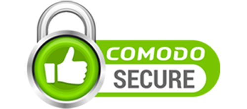 Site Secured with Comodo EV SSL